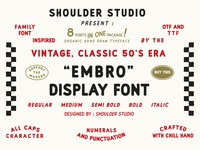 Embro font