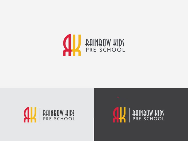 Rainbow Kids Pre School - Logo