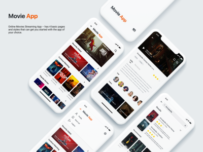 Movie Streaming App Concept!