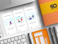 Onboarding Screen - Mobile UI Concept