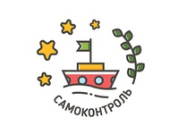 "Badges for children summer camp / skill ""Self-control"""