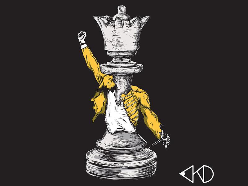 God Save The Queen by AJ van Niekerk on Dribbble