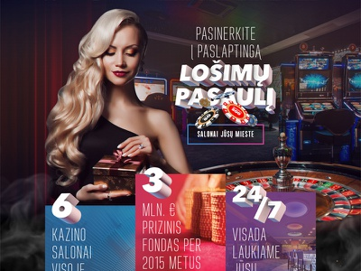 Casino Network woman website design web ux ui chips gamble landing 3d girl casino