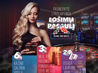 Casino Network woman website design web ux ui chips gamble landing 3d girl casino