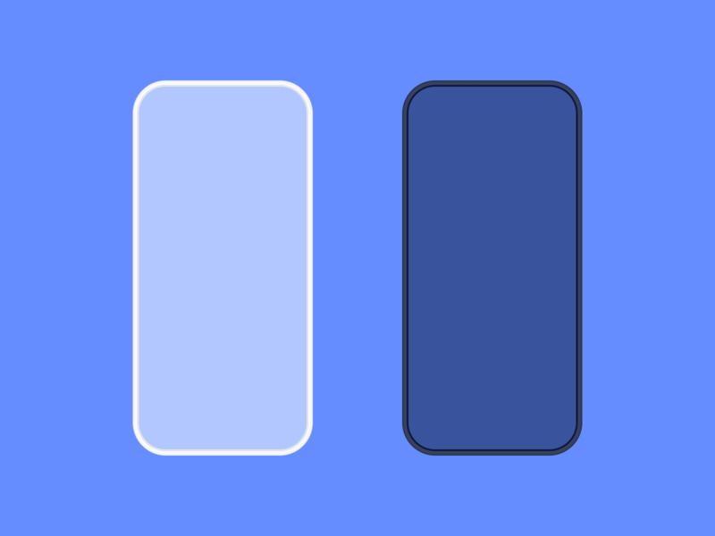 Custom Phone Template for Density design density template mockups mockup phone mockup illustration figma phone template phone templates