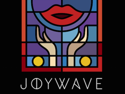 Joywave - Tongues Single joywave tongues music artwork art design illustration church window stained glass logotype