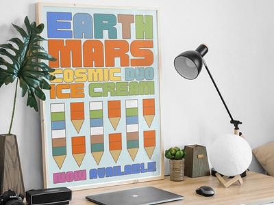 Cosmic Octo Typeface modern type hdcfonts poster logo headline typography font typeface display