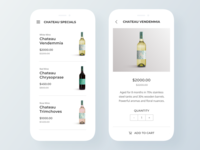 Daily UI #2: Wine Product Card UI