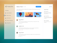 Startup Discovery UI Concept