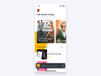 Podcast App - Home