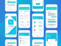 Financial chatbot concept