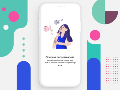 Investment app concept for GenZ