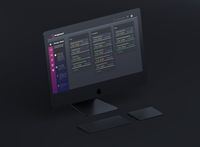 Dashboard Concept for Designers I Dark mode