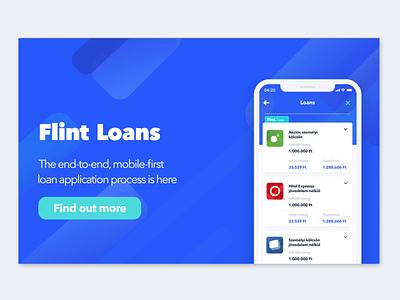 Animated Landing Page webdesign website interaction design concept invision studio invision landing page concept animation loan lending fintech landingpage application app
