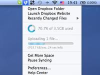 Dropbox uploading