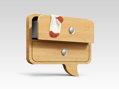 Wardrobe community icon wardrobe community icon commode sock wood