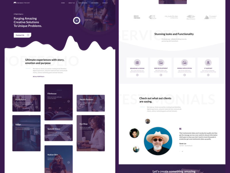 Summitech agency website