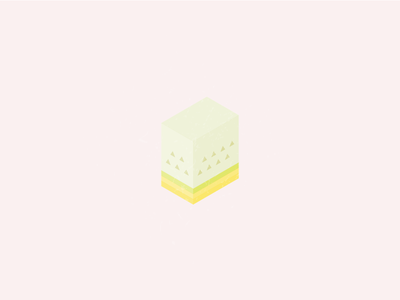The Melon 🍈 tropical illustrator branding visual yellow fruits isometric texture melon logo identity 3d