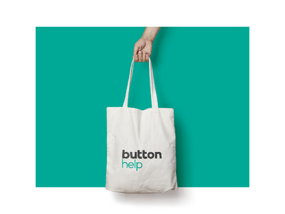 Button / Brand Merchandise illustrator branding visual accessory tote symbol logo identity brand bags merchandise photoshop
