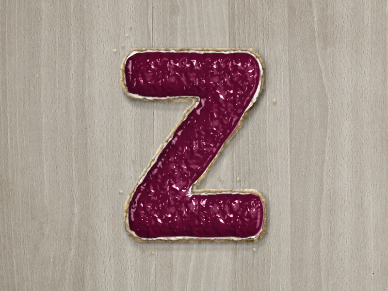 Z : 36 Days of Type 🔡 lettering branding vector design logo illustration 36daysoftype typography type alphabets jam bread