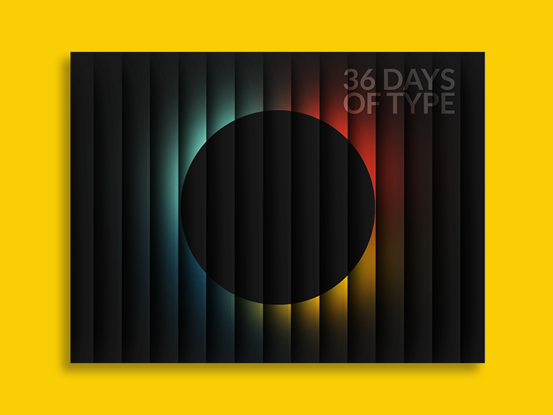 36 days of type all by ninyanve 1x