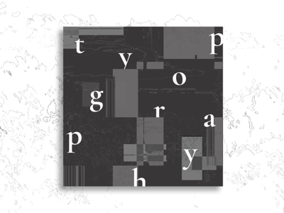 Cover Art : Typography 🖋 | Vol. I