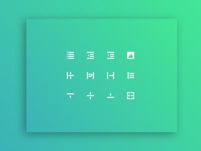 Text Editor ✱ Icon Set II