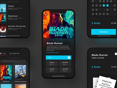 Cinema App Case Study cinema screening theater seats user experience ux iphone x case study app movie app movie movies