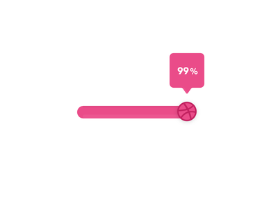 Becoming a Dribbble player ... 99% dribbble debut vector design firstshot uxdesign uidesign progress bar uielements ux ui