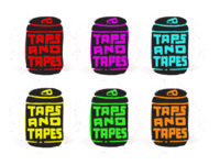 Taps and Tapes Branding