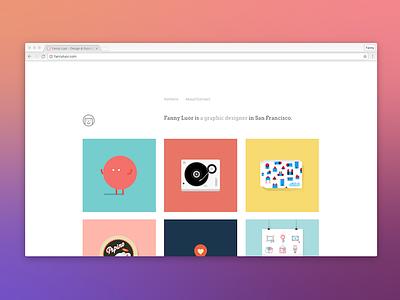 Portfolio 2014–2016 portfolio website