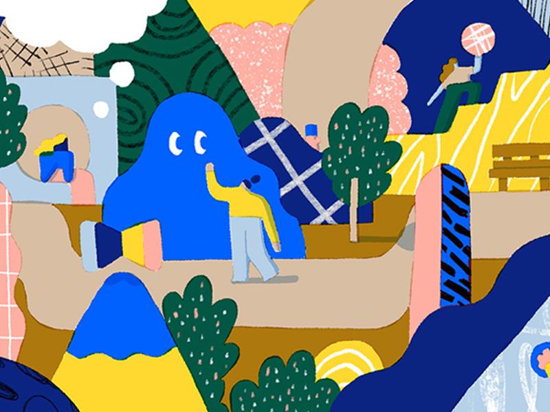 7 creative ways to reinvigorate mind, body, and soul design dropbox illustration