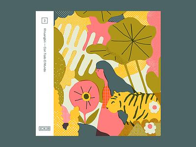 Nᵒ 3. Khruangbin — Con Todo El Mundo 10x18 illustration