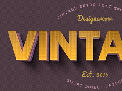 Vintage Text Effects 2