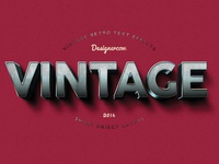 Vintage Text Effects 3