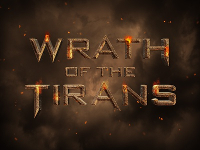 3d Movie Style Wrath of the titans  movie title cinematic text cinematic movie style 3d text