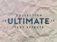 Ultimate Text Effect Collection Dribbble2