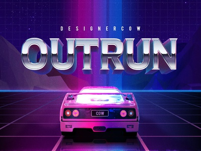 80s Text Effect V3 06 3d text mockup 3d mockup 80s 80s style retro text retro text effects