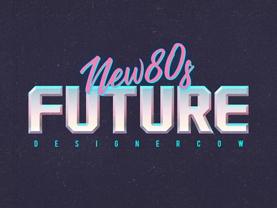 80s Text Effect V3 07