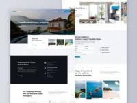 Luxury real estate investing platform - Homepage