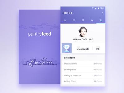 Pantryfeed_Profile_Splash inventory food milk india bangalore android iphone 6 perishable items splash profile pantry