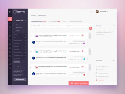 Dashboard design ux ui flat india bangalore web chat filter workspace psd dashboard