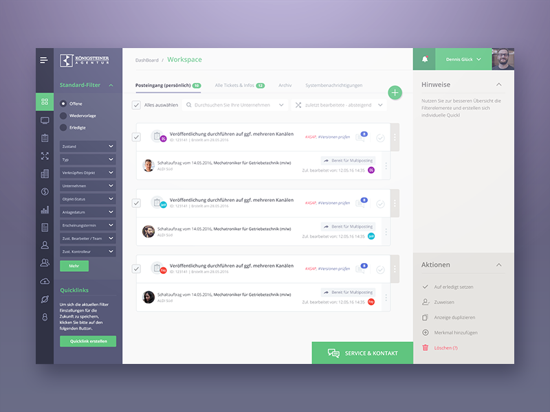 Dashboarddesign Ver2 By Reznik Umar Dribbble