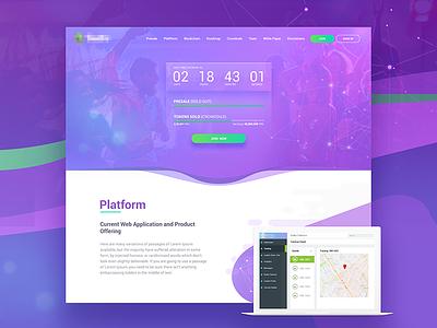 Crowdsale Landingpage ico currency crypto bangalore countdown timer party dashboard blockchain crowdsale bitcoin website