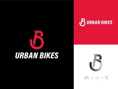 URBAN BIKES - Logo bicycle logo cycle bike logo modern logo clever clever logo minimal logo