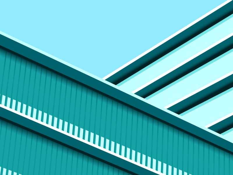 BUILDING architechture building trending color combination creative latest abstract dribbble concept digital art vector colors minimal illustration design