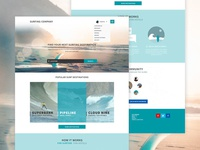 Surfing Company Website