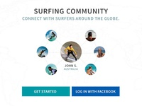Surfing Company Website - Surfing Community
