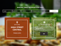Table Reservation UI