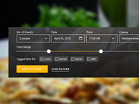 Table Reservation Search UI